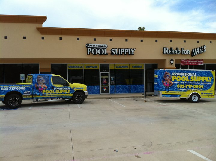Professional Pool Supply Store Front